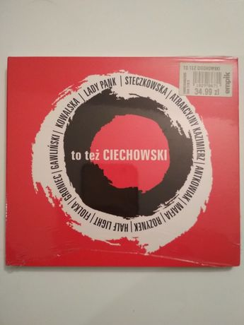 To też Ciechowski. Płyta CD.