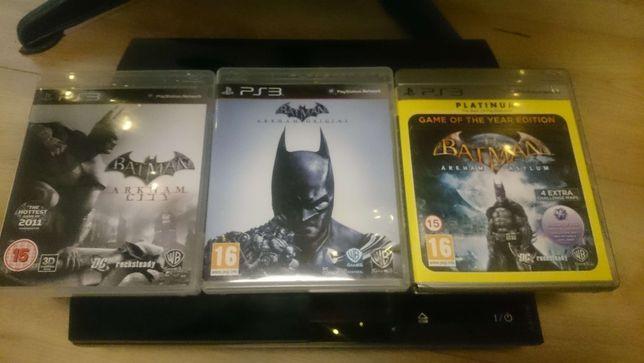 BATMAN Arkham Collection PS3 PL