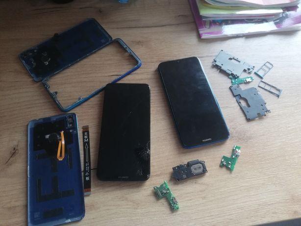 2szt Huawei y7 2019 uszkodzonych