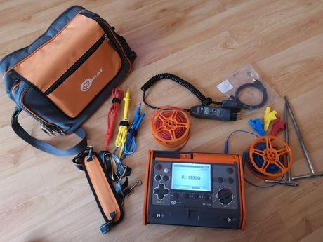 Pomiary elektryczne, okresowe, do ubezpieczenia Sonel MPI 520