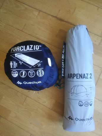 Tenda Quechua Arpenaz 2 pessoas + saco cama