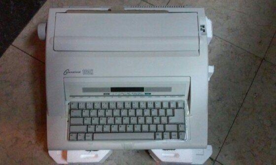 Máquina de escrever 160X Made by Nakajima - Nova