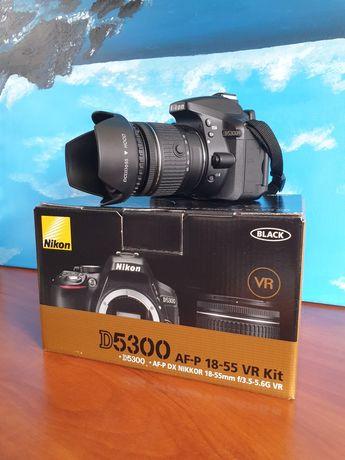 Aparat Nikon D5300 + Nikkor 18-55MM + TORBA + GRATISY   NISKI PRZEBIEG