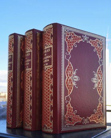 Fernando Pessoa - 3 volumes NOVOS, papel bíblia (envio grátis)