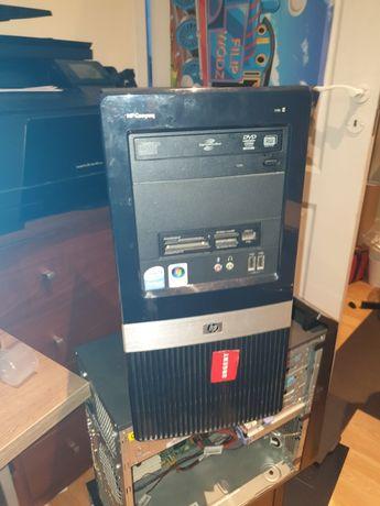 HP, obudowa, niekompletny komputer