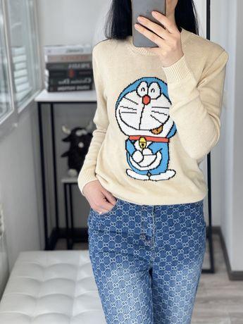 Свитер Doraemon x Gucci