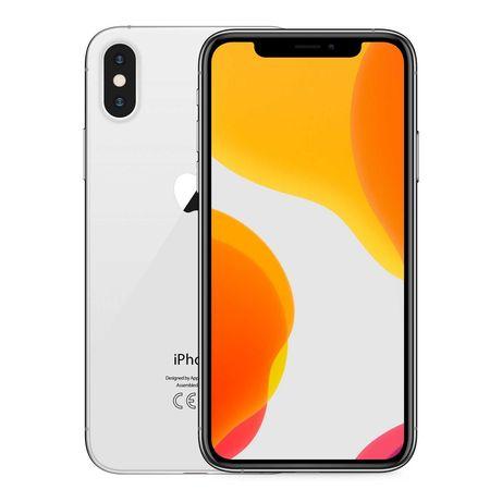 iPHONE X 64GB SILVER - GRADE A/B - LOJA - MEGA CAMPANHA