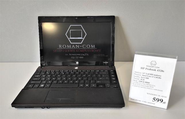 "HP Probook 4320s(14""/Intel Core i3/ 4GB/320GB HDD)"