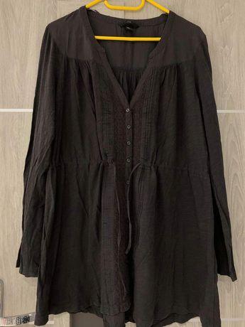 Tunika,dłuższą bluzka-koszula z H&M biust do 120cm.