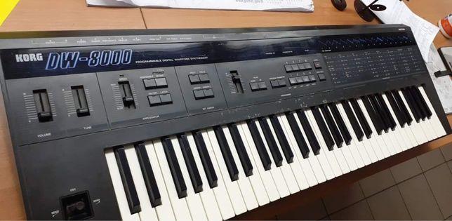 Korg DW8000 - syntezator wavetable