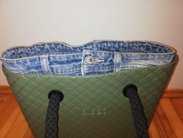 Organizer jeansowy do o bag mini