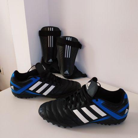 Buty Adidas r.44 i ochraniacze Adidas