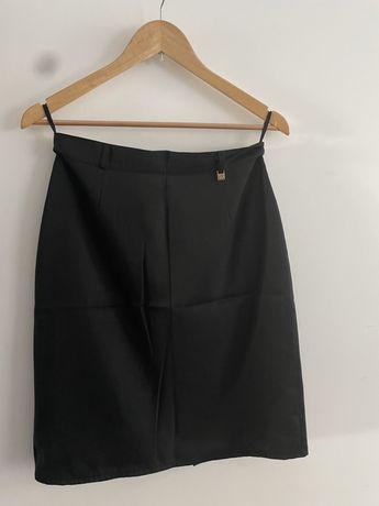 Spódnica czarna ołówkowa elegancka Bogter 38 M
