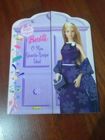 Livro Infantil: Barbie, O Meu Guarda-Roupa Ideal