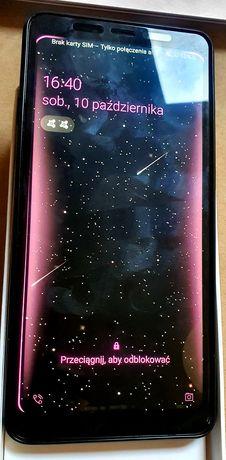 Samsung A9 różowy, duos, 4x camera, duży