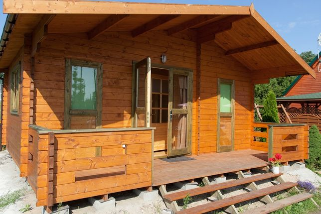 Domki drewniane do wynajęcia Sedranki woj. warmińsko-mazurskie