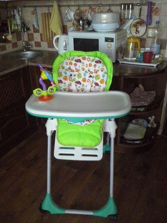 Продам стульчик для кормления Chicco Polly 2 в 1 !