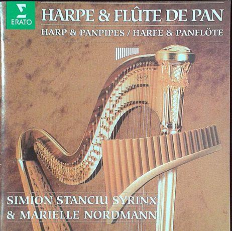 Harpa e Flauta de Pan.Syrinx & Nordmann.Pub ERATO Envio CTT