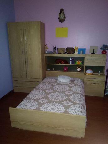 Mobília de quarto de criança com colchão