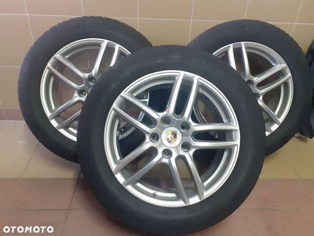 Porsche Cayenn koła + opony zimówki Dunlop 265/50/19