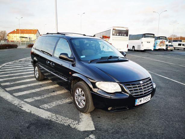 Grand Voyager Limited AWD, Webasto, 3,3L LPG, wersja europejska.