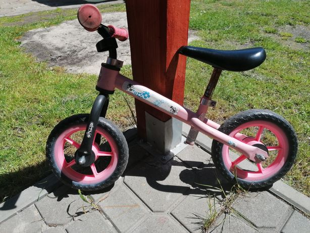 Rowerek biegowy dla dziewczynki 10 cali