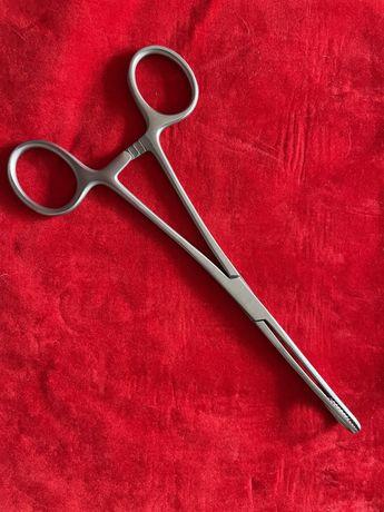Material cirurgico - pinça recta FOERSTER-BALLENGER 18cm