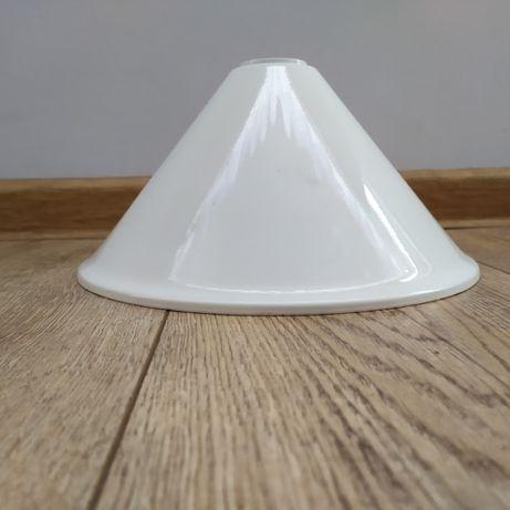 Klosz metalowy do lampy wiszącej, czasy PRL, industrial, retro, loft
