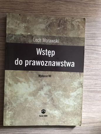 Książka Wstęp do prawoznawstwa Lech Morawski