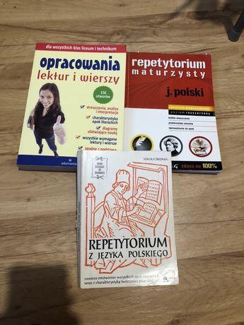 repetytorium maturzysty z jezyka polskiego, opracowania lektur