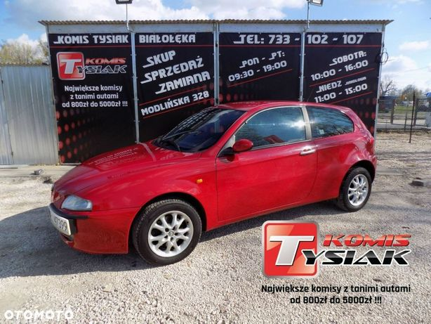 Alfa Romeo 147  Białołęka  1.6 Benzyna,2004 Rok Produkcji Komis