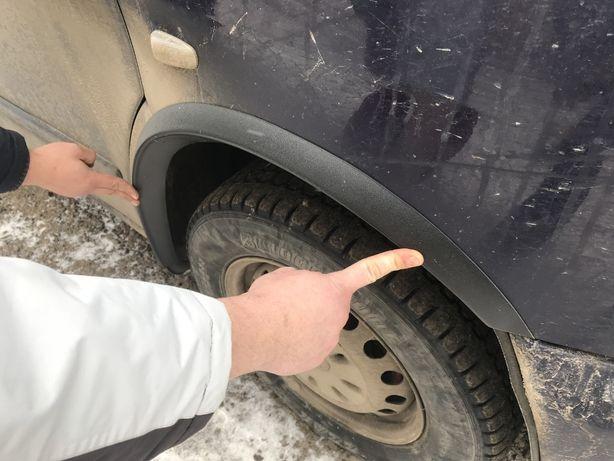 Накладки на арки колес Vito 638 639 Sprinter накладка защита Вито