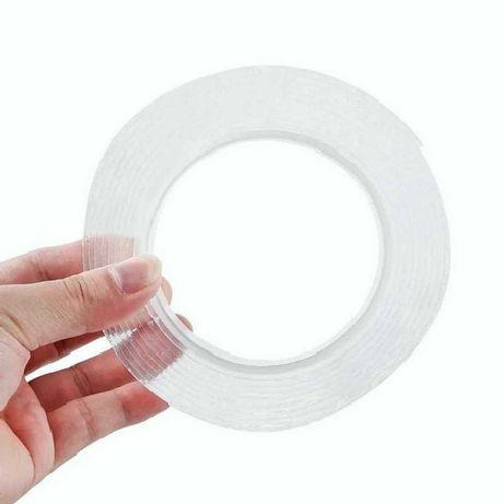 Многоразовая двухсторонняя клейкая 5м монтажная лента Ivy Grip Tape.