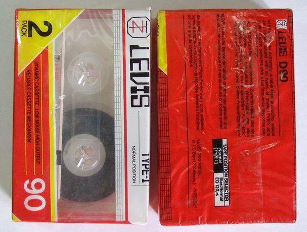 Аудиокассеты Levis 90. Упаковка (2 шт.)