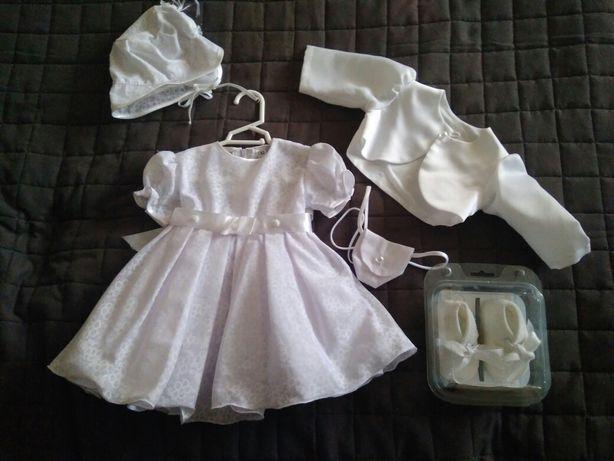 Ubranko do chrztu dla dziewczynki 62