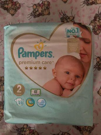 Продам памперсы подгузники Pampers 2 Premium care 69 штук