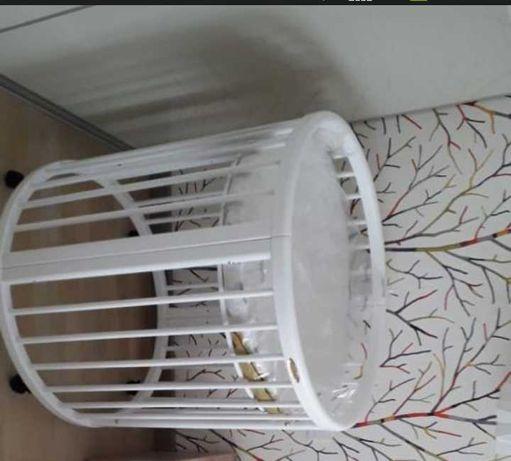 Детская кроватка-трансформер круглая овальная, 8в1, уступим хорошо