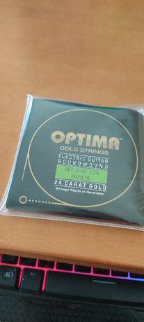 Cordas Optima Gold Strings 2028RL