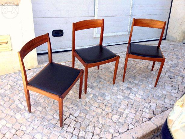 Cadeira olaio vintage 46comp X 41prof X 76alt