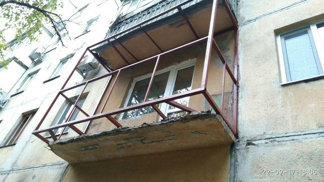 Ремонт балконов! Монтаж новых Окон и дверей