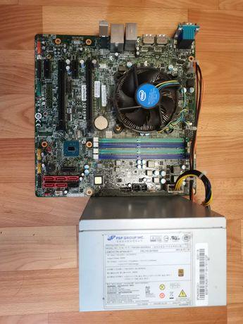 Материнская плата Lenovo + процессор + БП