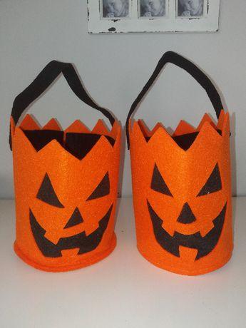 NOWE strój karnawałowy Dynia koszyczek na cukierki Halloween -FILC