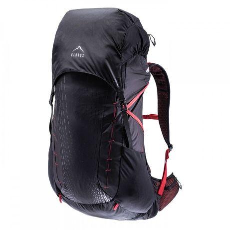 Рюкзак Elbrus Lite 35L Чорний з червоним elbrs-lite-35