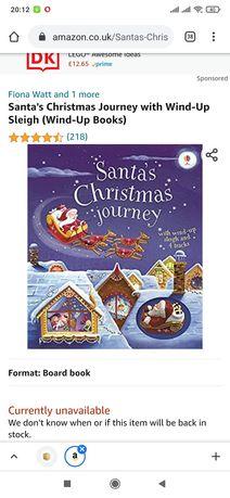 Книга Santa's Christmas Journey with Wind-Up Sleigh (Wind-Up Books)