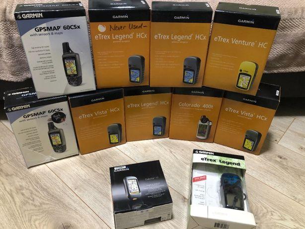 Навигаторы Garmin eTrex 10 Vista Legend Venture Colorado Dakota GPSmap