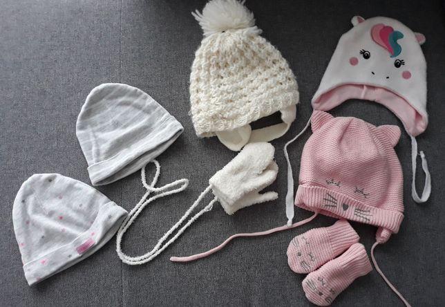 czapki dla dziewczykni