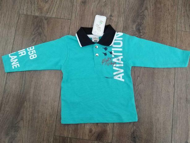 Nowa bluzeczka dla chłopca