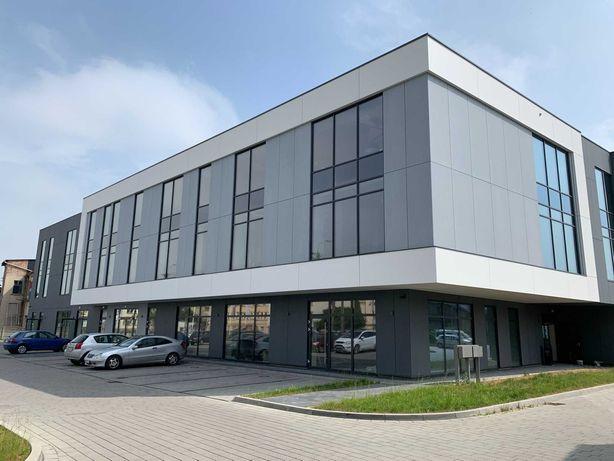 Lokale handlowo-usługowe w nowoczesnym biurowcu w Bielsku-Białej