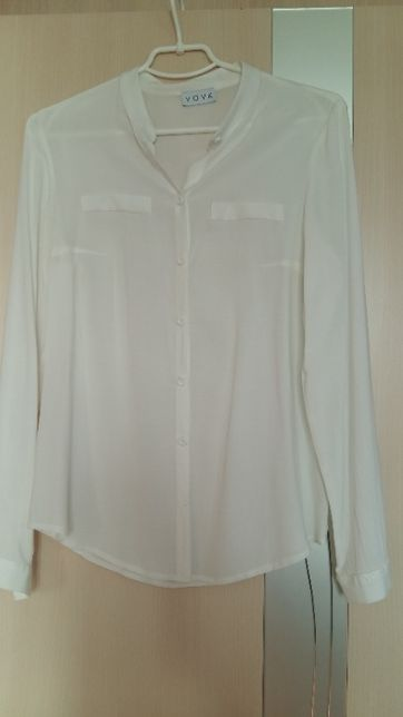 Женская белая рубашка Vovk размер XS-S