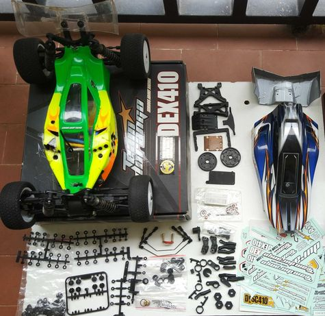 Carro Radiomodelismo RC 1/10 TT - Team Durango Dex410r v3